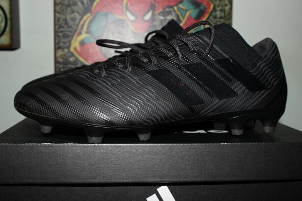 "b793fca5935a The Nemeziz 17.3 Firm Ground Cleats come well packaged in a black box  written ""Only the Best for the Athlete"" on the underside and have the Adidas  logo on ..."