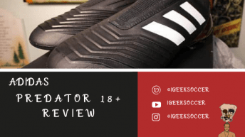 Adidas Predator 18+ Review