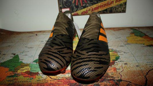 NEMEZIZ 17+ 360 AGILITY FIRM GROUND CLEATS 6
