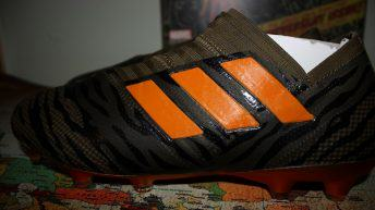 NEMEZIZ 17+ 360 AGILITY FIRM GROUND CLEATS 10