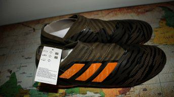 NEMEZIZ 17+ 360 AGILITY FIRM GROUND CLEATS 9