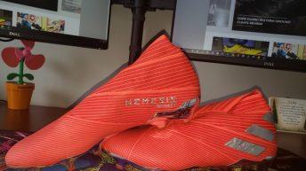 Adidas Nemeziz 19+ FG Soccer Cleat Review 6