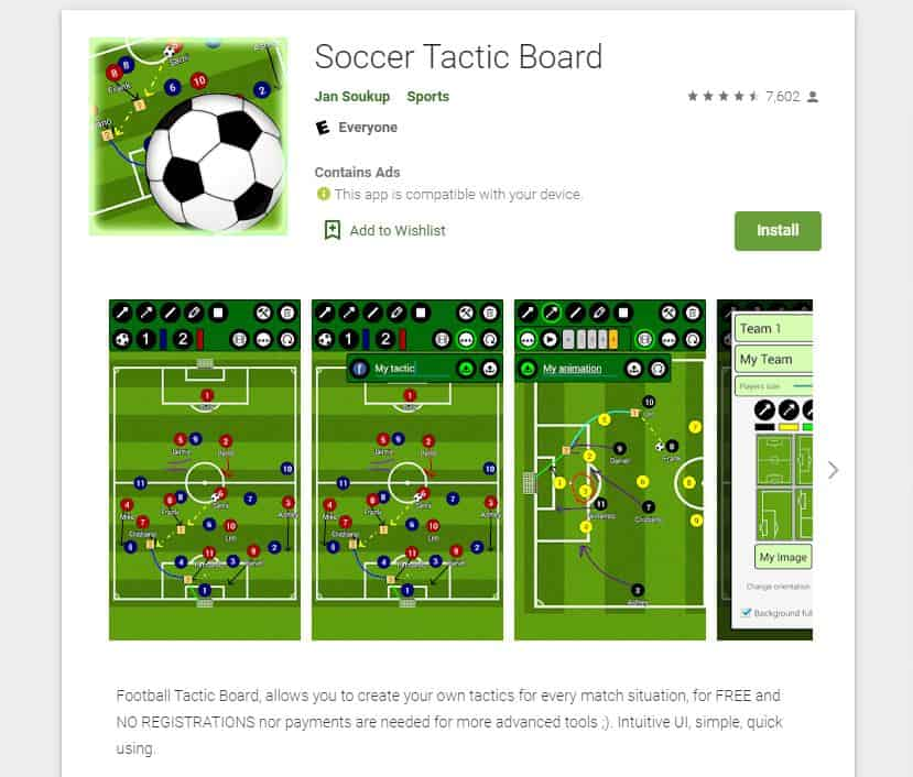 Football Tactic Board