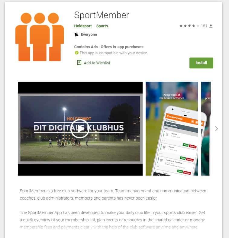 Sport Member