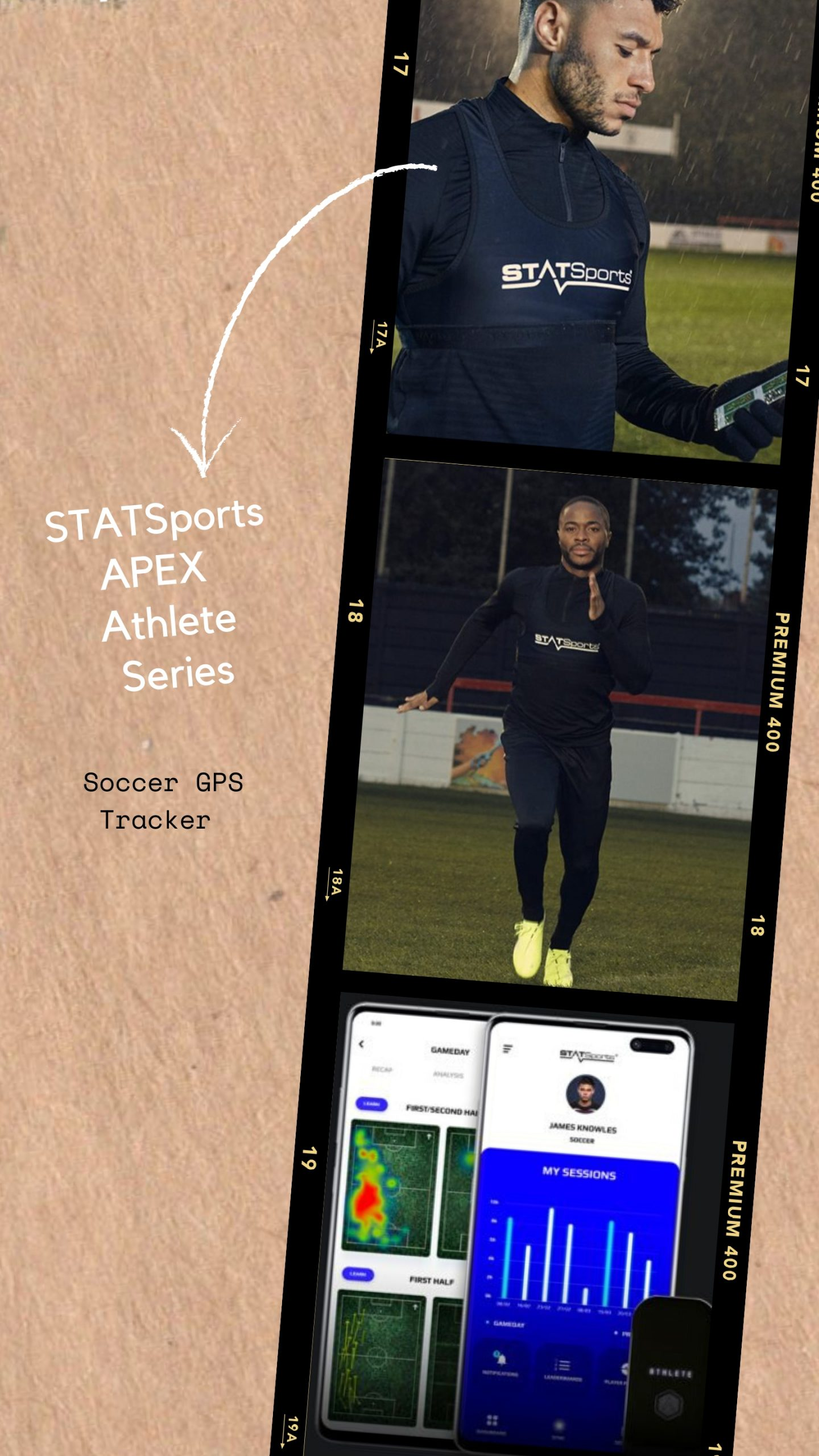 STATSports APEX Athlete Series Soccer GPS Tracker
